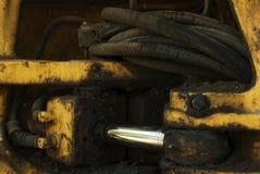 Hydraulische aandrijving stock afbeelding