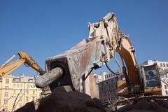 Hydraulische hamer Royalty-vrije Stock Afbeelding