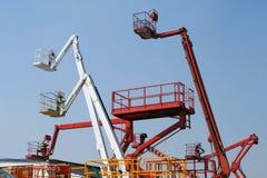 Hydraulische liftmachines royalty-vrije stock foto