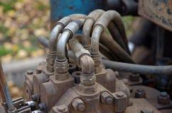 Hydraulische Machines royalty-vrije stock fotografie