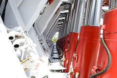 Hydraulischer Support Lizenzfreie Stockbilder