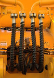 hydraulisk anslutning Royaltyfria Bilder