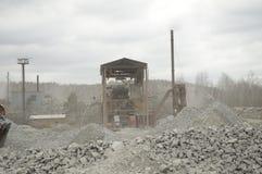 Hydraulisk grävare Arkivfoton