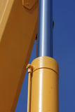 hydraulisk pistong Royaltyfri Fotografi