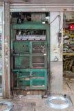 hydraulisk press arkivbild
