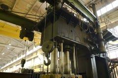 hydraulisk press Royaltyfria Foton