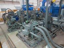 Hydraulisk pump Royaltyfri Bild