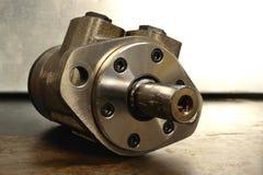 hydraulisk pumpmotor Royaltyfria Foton