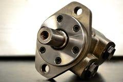 hydraulisk pumpmotor Arkivbilder