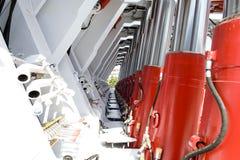 hydraulisk service Royaltyfria Bilder