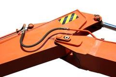 hydraulisk skyffel för bangelement Fotografering för Bildbyråer