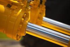 hydrauliska nya pistonger Arkivfoto