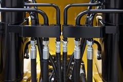 hydrauliska rør Fotografering för Bildbyråer