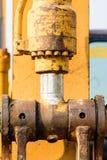 Hydrauliskt metallrör Royaltyfri Foto