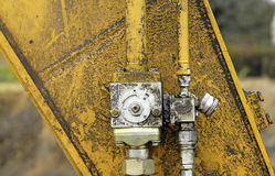 hydrauliskt system Royaltyfria Bilder