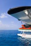 Hydravion chez les Maldives Photo libre de droits