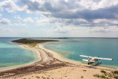 Hydravion sec de Tortugas Images stock