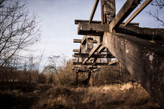 Concrete structure - old ruins Stock Photos
