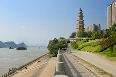 Hydro city - Yichang Stock Photography