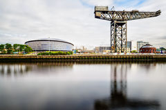 Hydro Concert Centre and the Finnieston crane Stock Images