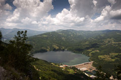 Hydro dam in serbia Royalty Free Stock Photos