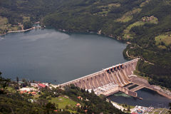 Hydro dam in serbia Royalty Free Stock Images