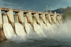Hydro Dam Spillway Stock Photography