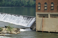 Hydro electric dam Stock Photography