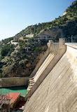 Hydro-Electric Dam in Andalusia Royalty Free Stock Photography