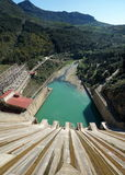 Hydro-Electric Dam in Andalusia Stock Images