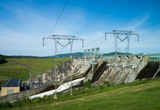 Hydro Electric Power Plant Royalty Free Stock Photography