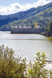 Hydro-electric power plant and dam, Chorro Gorge Stock Image