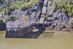 Hydro-electric power plant and dam, Chorro Gorge Stock Photography