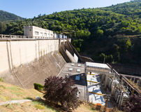 Hydro-electric power station. On Bibei river.  Spain Royalty Free Stock Image