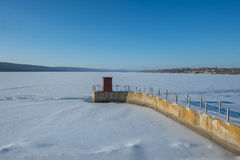 Hydro electric station Royalty Free Stock Images