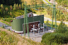 Hydro Elektrische centrale Royalty-vrije Stock Afbeelding
