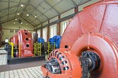 Hydro elektrische centrale Royalty-vrije Stock Foto