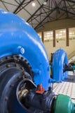 Hydro elektrische centrale royalty-vrije stock foto's