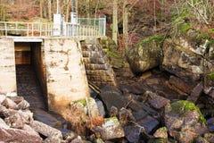 Hydro-elektrische Dam Royalty-vrije Stock Foto