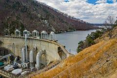 Hydro-elektrische Dam in Smith Mountain Lake royalty-vrije stock afbeeldingen