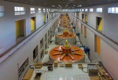 Hydro-elektrische elektrische centrale Royalty-vrije Stock Afbeeldingen