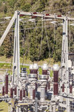 Hydro-elektrische Grimentz Royalty-vrije Stock Foto