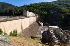 Hydro-elkraft kraftverk royaltyfria bilder