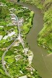 Hydro Energy Resources On Pastaza River Stock Photo