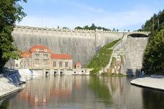 Hydro krachtcentrale royalty-vrije stock afbeelding