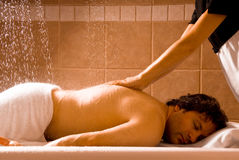 Hydro massage Stock Photography