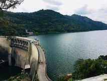 Hydro power damm. Hydro power-generation reserve central province sri lanka Royalty Free Stock Photography