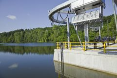 Hydro power plant Royalty Free Stock Images