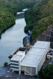 Hydro power plant. Srinakarin hydro power plant in Kanchanaburi Thailand Royalty Free Stock Photos