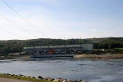 Hydro power plant Stock Photo